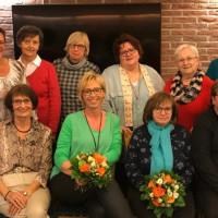 Die aktiven Frauen des AsF-Vorstands Weiden, 2019