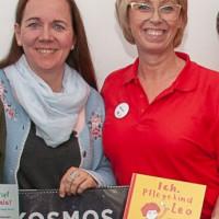 Die Autorin Marion Klara Mazzaglia (links) wurde von der AsF-Vorsitzenden Sabine Zeidler herzlich begrüßt.